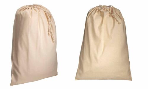 Sacchetti in cotone naturale promozionali
