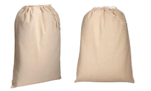 Sacchetti in cotone naturale 30 x 45 promozionali