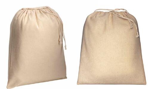 Sacchetti in cotone naturale 25 x 30 personalizzate