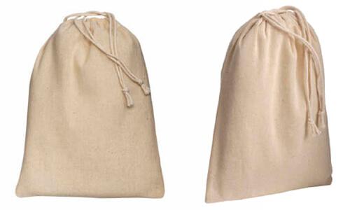 Sacchetti in cotone naturale 15 x 20 personalizzate