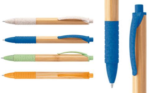 Penna a sfera in bambù KUMA personalizzate