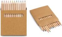 Scatola con 12 matite colorate COLOURED