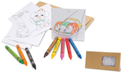 Set per colorare JAGUAR Stampa la tua Pubblicità