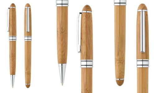 Set con penna roller e penna a sfera LUANDA con il tuo logo
