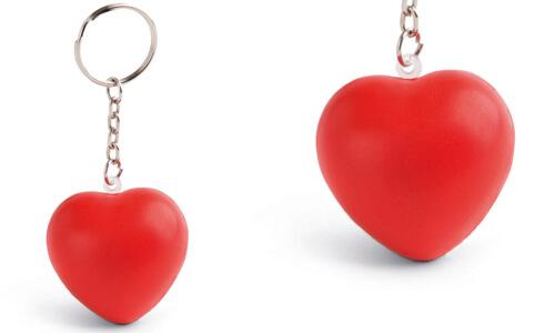 Portachiavi anti-stress HEARTY personalizzate