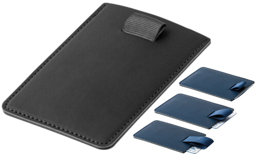 Porta tessere con blocco RFID POPPY personalizzate