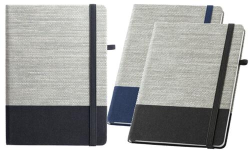 Block note A5 in tela di cotone personalizzabili