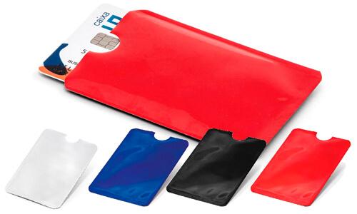 Porta tessere con blocco RFID personalizzabili