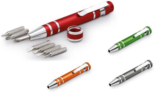 Utensile con 4 punte intercambiabili personalizzalo al laser