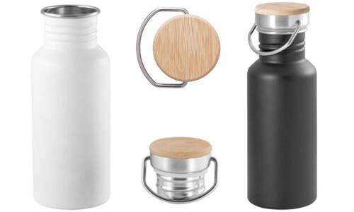 Borraccia in acciaio inox da 540 ml OASIS promozionali