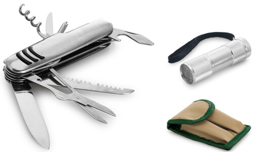 Kit outdoor promozionale personalizzabile