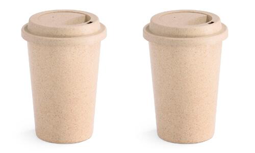 Bicchiere in materiale ecologico