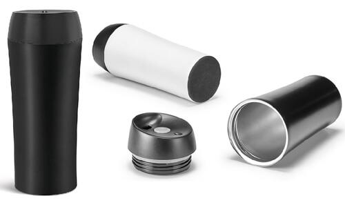 Bicchiere con sistema salvagoccia MONARDA personalizzabili