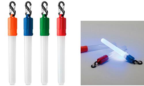 Torce tubolare con moschettone personalizzabili