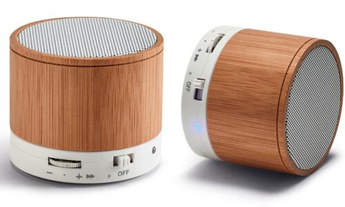 Altoparlante bambù personalizzabili