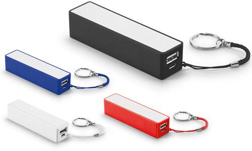 Batteria portatile da stampare con il tuo logo personalizzato
