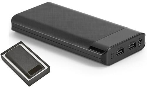 Power bank portatile con scatola regalo da stampare