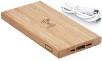 Batteria portatile FITCH bambù