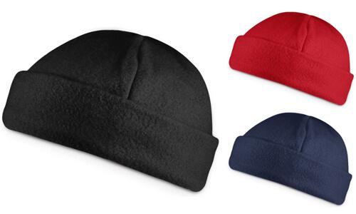 Cappello in pile con il tuo logo