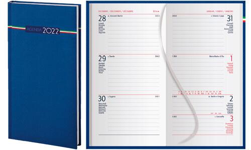 Agendina tascabile Settimanale Tricolore