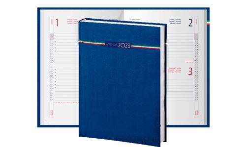 Agende Giornaliere Tricolore 15x21 cm