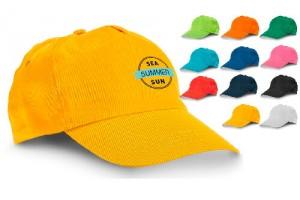 Gadget  Estivi Cappellini Personalizzati con il vostro logo aziendale