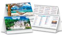 Calendario da Tavolo Viaggi nel Mondo