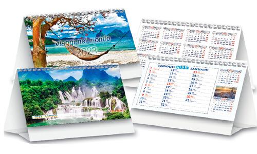 Calendario da scrivania grafica