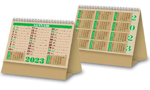 Calendario da tavolo olandese mini classico