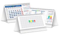 Calendario Olandese da tavolo Minitris