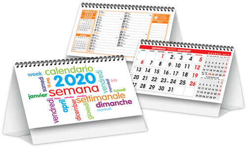 Calendari da tavolo Day By Day