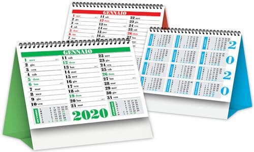 Calendari da tavolo Minicolor