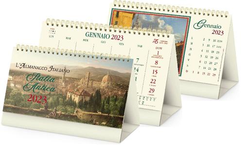 Calendario da tavolo grafiche italia Antica
