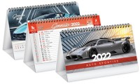 Calendario da banco Illustrato Auto