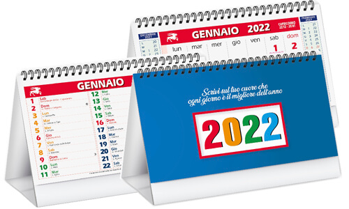 Calendari da tavolo Multicolors