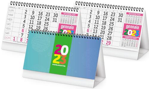 Calendari da tavolo Fluo personalizzate