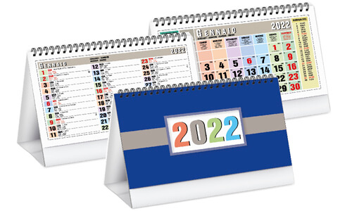Calendari da tavolo Colors