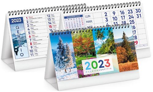 Calendari da tavolo Four Seasons personalizzabili