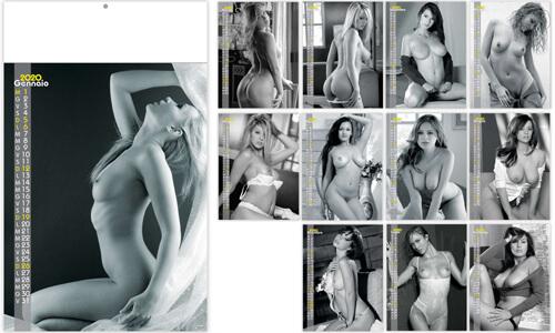 Calendario Tipo Nudo Sexy