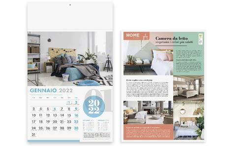 Calendario Illustrato mensile promozionale