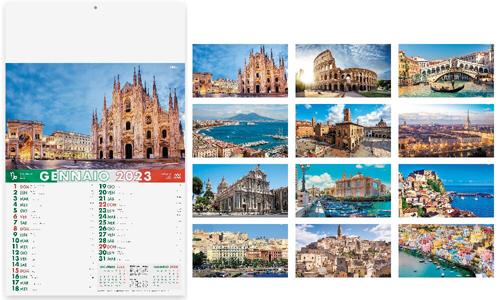 Calendari Murali con fotografie della nostra Italia