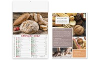 Calendario illustrato PANE E PASTA