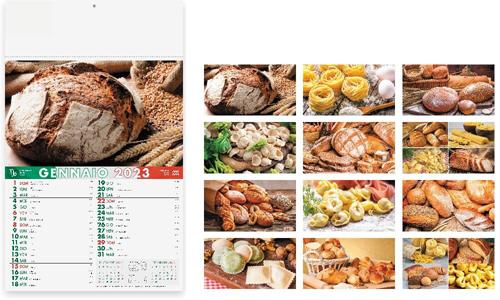 Calendario illustrato PANE E PASTA promozionale