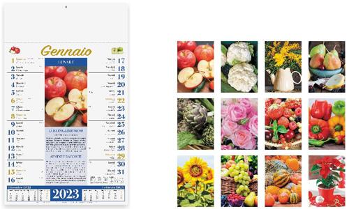 Calendario illustrato LUNARIO con il tuo logo