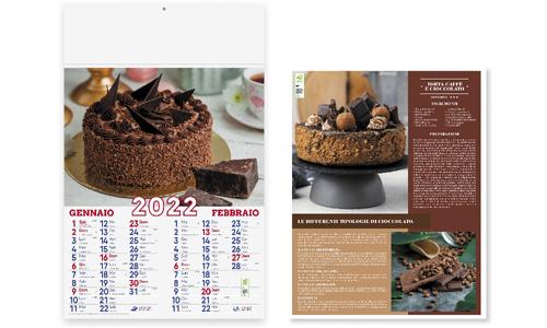 Calendario illustrato Dolci personalizzabili