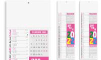 Calendario Olandese Slim Fluo - B -