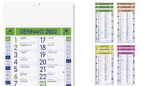 Calendario olandese MAGNUM FLUO personalizzate