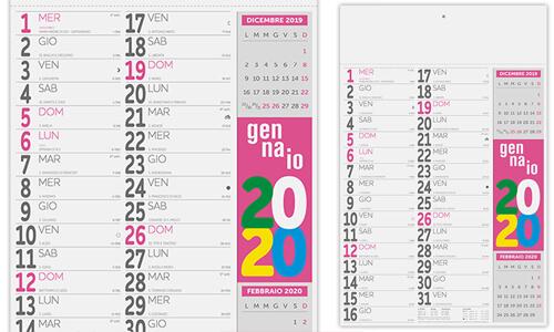 Calendario Olandese Fluo - B -