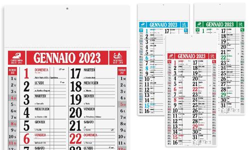 Calendario olandese MAGNUM personalizzabile