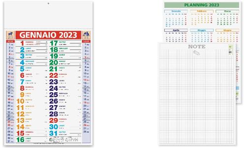 Calendario OLANDESE MULTICOLOR promozionale